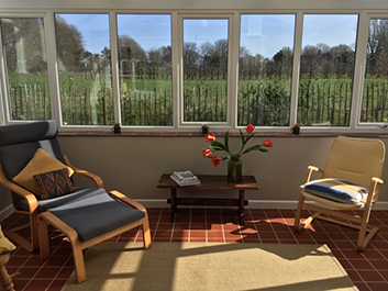 Broom Cottage living room